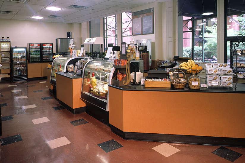 NYU Kaufman Management Center Cafe