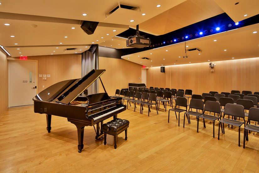 NYU – Steinhardt School of Music Recital Room